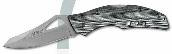 Knife M-Tech Silver Lockback Folder