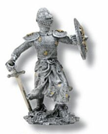 Knight miniature 2