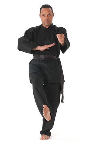 Kung Fu Uniform - Black Deluxe