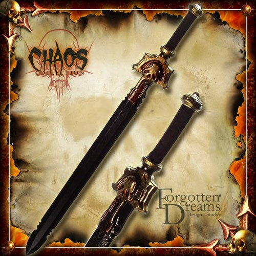 Chaos sword for larp by forgotten dreams the sword is made of a fibre