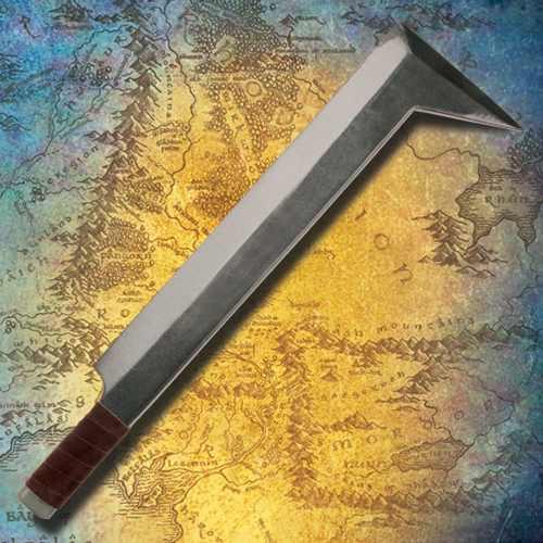 LARP Museum Replicas Uruk Hai Sword - Latex