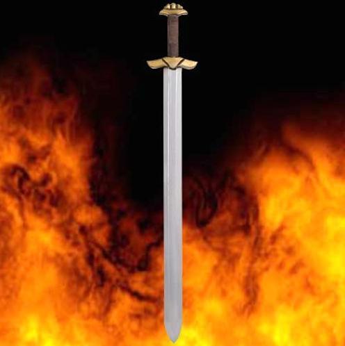 LARP Viking Raider Sword - Latex