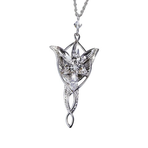 LOTR Arwen's Evenstar Pendant Silver