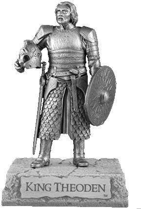 LOTR King Theoden Figure - Les Etains Du Graal