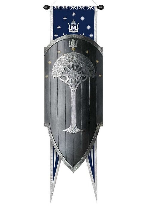 LOTR Second Age Gondorian War Shield