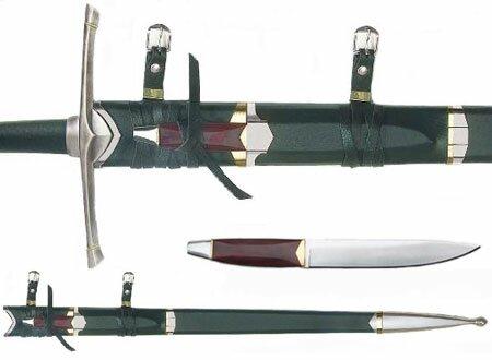 Strider sword and scabbard