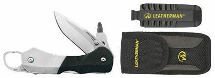 Leatherman Knife Expanse e55B-e55Bx w Bit Kit
