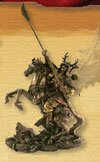 Miniature Samurai with Naginata - PL-420