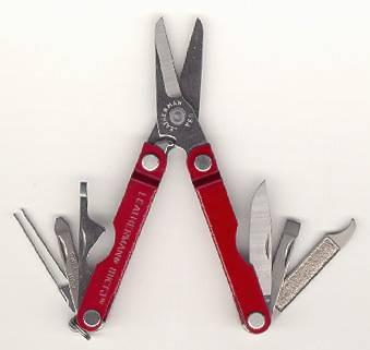 Multitool Leatherman Micra Tool Red