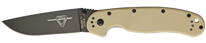 Ontario Rat Knives Ontario Rat-1 Desert Tan