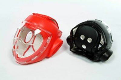 PU Head Guars Red with mask