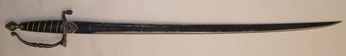 Pirates sword brass