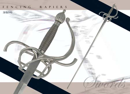 Practical Rapier - 37 inch blade
