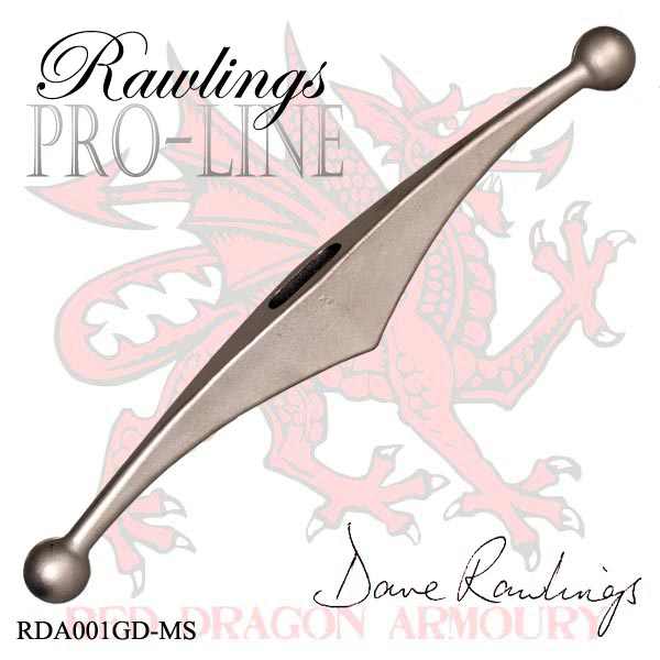 Rawlings Pro-Line Stainless Steel Longsword Guard - Matt