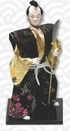 Samurai Warrior doll with naginata - PL-604