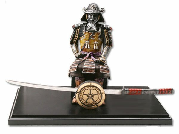 Samurai with letter opener
