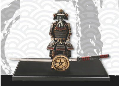 Samurai with letter opener