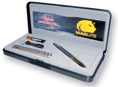 Space Pen - Fisher Bullet Pen Maglite Solitaire Set