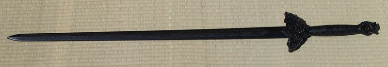 Tai Chi Daito Sword PP black