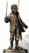 The Hobbit Bronze Statue Bilbo Baggins Noble Collection - NN1203