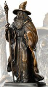 The Hobbit Bronze Statue Gandalf Noble Collection - NN1208