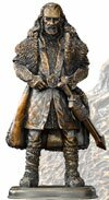 The Hobbit Bronze Statue Thorin Oakenshield Noble Collection - NN1205