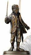 The Hobbit Bronze Statue Bilbo Baggins Noble Collection