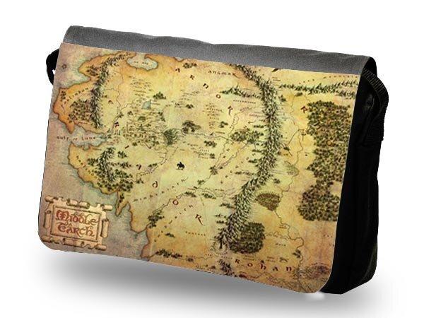 The Hobbit Shoulder Bag The Treasure Map