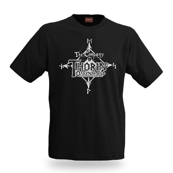 The Hobbit T-Shirt Thorin Oakenshield Distress