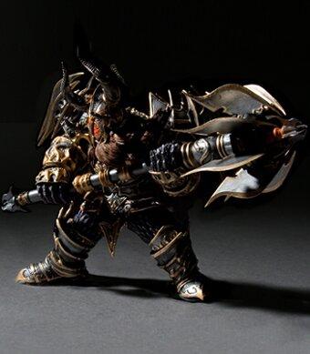 World Of Warcraft, Dwarf Warrior: Thargas Anvilmar  Collector Figure