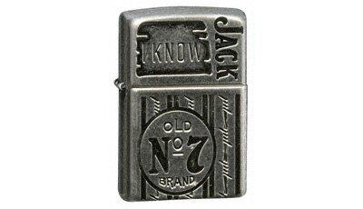 Famoso ZIPPO Lighter Jack Daniels - I Know Jack(24174) Zippo Lighters and  OU42